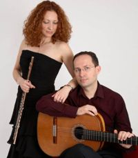 Cavatina Duo with Omaha Guitar Trio