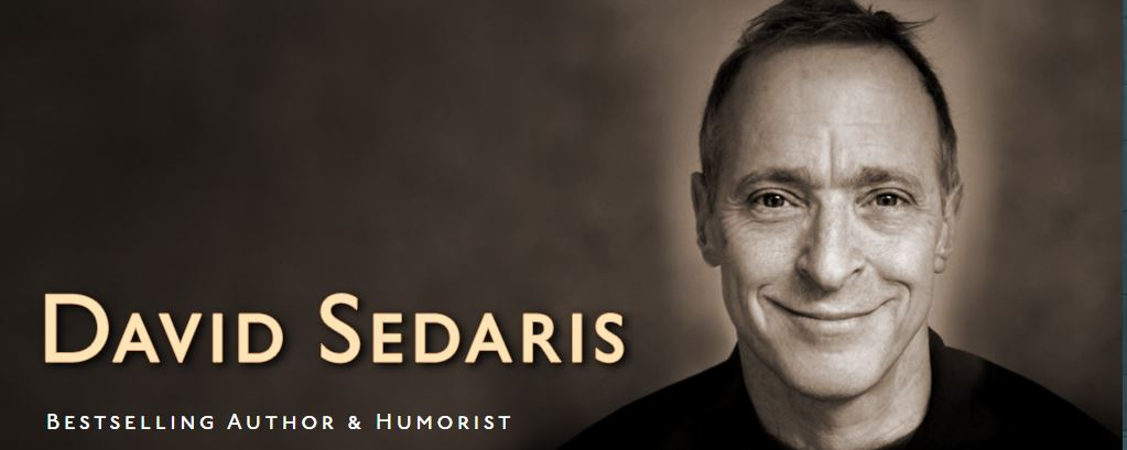 David Sedaris Christmas.An Evening With David Sedaris