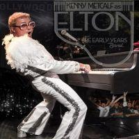 Kenny Metcalf as Elton John....The Early Years