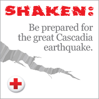 SHAKEN: Be Prepared for the Great Cascadia Earthquake